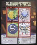 Poštovní známky Malawi 2008 Internet, 25. výročí