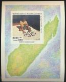 Poštovní známka Madagaskar 1994 Výroba koberců Mi# Block 255