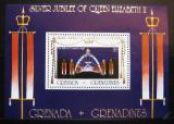 Poštovní známka Grenada Gren 1977 Vláda Alžběty II. Mi# Block 26