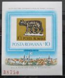Poštovní známka Rumunsko 1978 Romulus a Remus Mi# Block 155