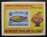 Poštovní známka Kongo 1980 MS ve fotbale Mi# Block 23
