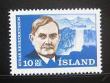 Poštovní známka Island 1965 Einar Benediktsson, básník Mi# 397