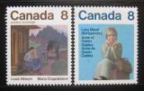 Poštovní známky Kanada 1975 Maria Chapdelaine Mi# 591-92