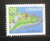 Poštovní známka Kanada 1983 Pevnost Coteau-du-Lac Mi# 885