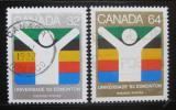 Poštovní známky Kanada 1983 Univerzitní hry Mi# 875-76