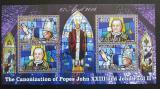 Poštovní známky Malawi 2014 Kanonizace papežů