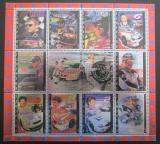 Poštovní známky Udmurtská republika 2000 Závodní auta