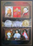 Poštovní známky Čad 2014 Papež Jan Pavel II., zlaté písmo