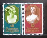 Poštovní známky Lichtenštejnsko 1980 Evropa CEPT Mi# 741-42
