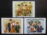 Poštovní známky Lichtenštejnsko 1980 Kroje Mi# 754-56