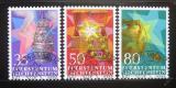 Poštovní známky Lichtenštejnsko 1985 Vánoce Mi# 884-86
