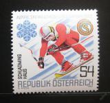 Poštovní známka Rakousko 1982 MS v lyžování Mi# 1695