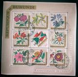 Poštovní známky Burundi 1966 Květiny