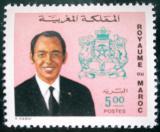 Poštovní známka Maroko 1975 Král Hassan II. Mi# 740 Kat 5.50€