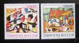 Poštovní známky Jugoslávie 1981 Dětské kresby Mi# 1901-02
