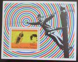 Poštovní známka Madagaskar 1976 Telefon Mi# Block 12