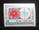 Poštovní známka Rakousko 1983 Kongres chemoterapie Mi# 1748