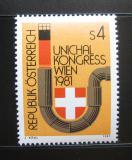 Poštovní známka Rakousko 1981 Kongres inženýrů topení Mi# 1669