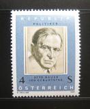 Poštovní známka Rakousko 1981 Otto Bauer, politik Mi# 1678