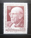 Poštovní známka Rakousko 1980 Evropa CEPT, Robert Stolz Mi# 1652