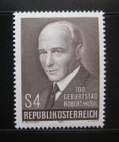Poštovní známka Rakousko 1980 Robert Musil, spisovatel Mi# 1661