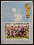 Poštovní známka Svatý Vincenc Gren. Bequia 1986 Team Iráku Mi# Block 5