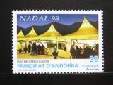 Poštovní známka Andorra Šp. 1998 Vánoce Mi# 262