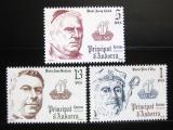 Poštovní známky Andorra Šp. 1979 Biskupové Mi# 128-30