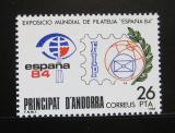 Poštovní známka Andorra Šp. 1984 ESPANA výstava Mi# 174