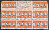 Poštovní známky Svatý Vincenc 1975 Američtí prezidenti Mi# 419