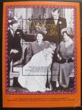 Poštovní známky Svatý Vincenc 1987 Královská rodina Mi# Block 49