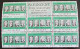 Poštovní známky Svatý Vincenc 1975 Američtí prezidenti Mi# 412