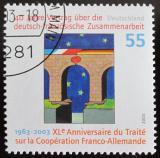 Poštovní známka Německo 2003 Něm.-franc. dohoda Mi# 2311