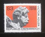 Poštovní známka Rakousko 1978 Viktor Adler, Anton Hanak Mi# 1589