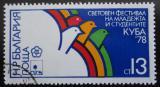 Poštovní známka Bulharsko 1978 Festival mládeže Mi# 2676