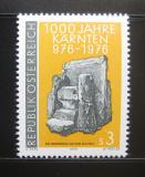 Poštovní známka Rakousko 1976 Milénium Korutan Mi# 1511