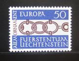 Poštovní známka Lichtenštejnsko 1965 Evropa CEPT Mi# 454