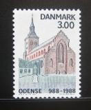 Poštovní známka Dánsko 1988 Odense milénium Mi# 917