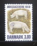 Poštovní známka Dánsko 1987 Vepři Mi# 898