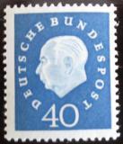 Poštovní známka Německo 1959 Prezident Heuss Mi# 305 Kat 14€
