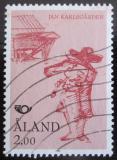 Poštovní známka Alandy 1993 Houslista Mi# 70