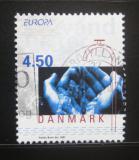 Poštovní známka Dánsko 2001 Evropa CEPT Mi# 1277