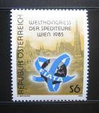 Poštovní známka Rakousko 1985 Kongres agentů Mi# 1828