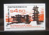 Poštovní známka Rakousko 1984 Povstání roku 1934 Mi# 1766