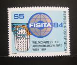 Poštovní známka Rakousko 1984 Kongres inženýrů autoprůmyslu Mi# 1770