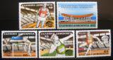 Poštovní známky Řecko 1985 ME v atletice Mi# 1575-79