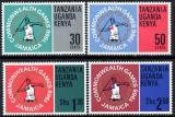 Poštovní známky K-U-T 1966 Britské hry Mi# 152-55