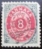 Poštovní známka Dánsko 1895 Nominální hodnota Mi# 25 I Y B b