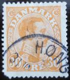 Poštovní známka Dánsko 1921 Král Christian X. Mi# 123