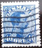 Poštovní známka Dánsko 1922 Král Christian X. Mi# 124